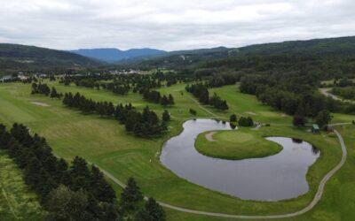 Notre visite au Club de golf Le Gaspésien